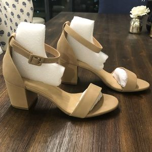 Nude new never worn heels